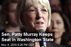 Sen. Patty Murray Keeps Seat in Washington State