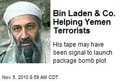 Bin Laden & Co. Helping Yemen Terrorists