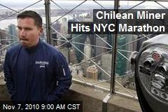 Chilean Miner Hits NYC Marathon