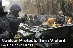 German Nuclear Protests Turn Violent