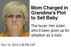 Mom Charged in Grandma's Plot to Sell Baby