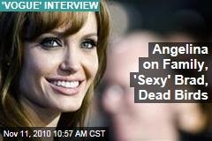 Angelina on Family, 'Sexy' Brad ... Dead Birds