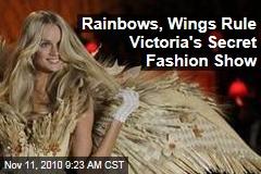 Rainbows, Wings Rule Victoria's Secret Fashion Show