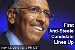 First Anti-Steele Candidate Lines Up