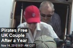 Pirates Free UK Couple After a Year