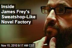 Inside James Frey's Sweatshop-Like Novel Factory