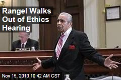 Rangel Walks Out of Ethics Hearing