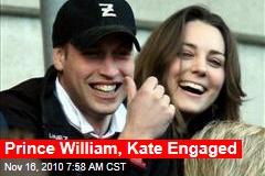 Prince William, Kate Engaged