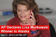 AP Declares Lisa Murkowski Winner in Alaska