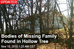 Bodies of Missing Family Found Stuffed in Tree