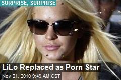 LiLo Won't Play Porn Star