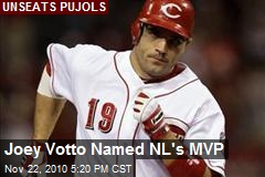 Joey Votto Named NL's MVP