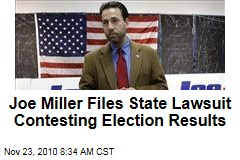 Joe Miller Files State Lawsuit Contesting Alaska Election Results, Lisa Murkowski Write-In Vote Count