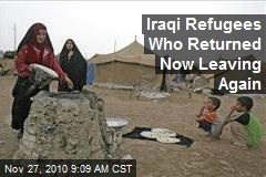 Iraqi Refugees Who Returned Now Leaving Again