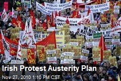 Irish Protest Austerity Plan
