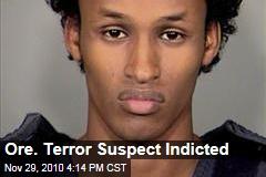Ore. Terror Suspect Indicted