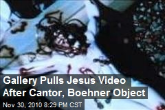 Cantor, Boeher Censor Ant-covered Jesus Video
