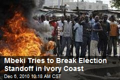 Mbeki Tries to Break Election Standoff in Ivory Coast