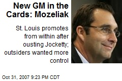 New GM in the Cards: Mozeliak