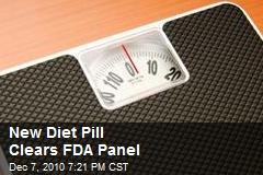 New Diet Pill Clears FDA Panel