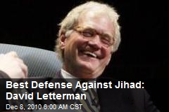 Best Argument Against Jihad: David Letterman