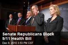 Senate Republicans Block 9/11 Health Bill