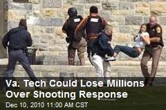 Va. Tech Could Lose Millions Over Shooting Response