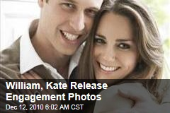 William, Kate Release Engagement Photos