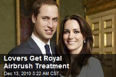Lovers Get Royal Airbrush Treatment