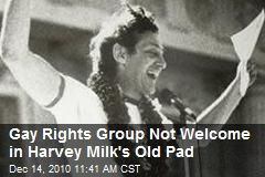 Gay Rights Group Not Welcome in Harvey Milk's Old Pad