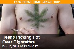 Teens Picking Pot Over Cigarettes