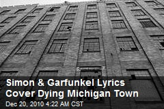 Looking for America : Simon, Garfunkel Lyrics Cover Town