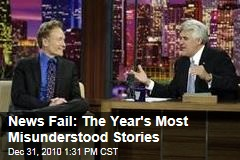 News Fail: The Year's Most Misunderstood Stories