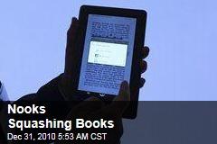 Nooks Squashing Books