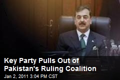 Key Party Pulls Out of Pakistan's Ruling Coalition