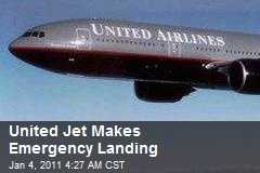 United Jet Makes Emergency Landing After Malfunction