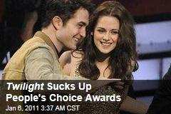 Twilight Sucks Up People's Choice Awards