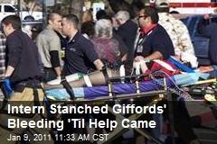 Intern Stanched Giffords' Bleeding 'Til Help Came