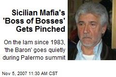 Sicilian Mafia's 'Boss of Bosses' Gets Pinched