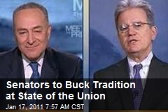 Senators to Buck Tradition at State of the Union