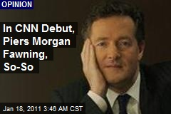 Piers Morgan Charms Oprah In CNN Debut