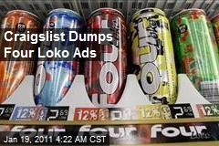 Craigslist Dumps Four Loko Ads