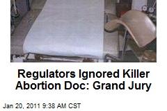 Regulators Ignored Killer Abortion Doc: Grand Jury