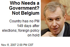 Who Needs a Government? Not Belgium
