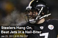Steelers Trounce Jets in a Nail-Biter