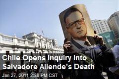 Enquiry into 1973 Death of Salvador Allende