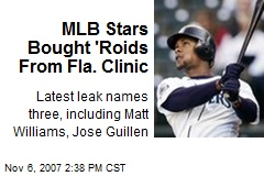 MLB Stars Bought 'Roids From Fla. Clinic