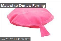 Malawi to Outlaw Farting