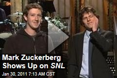 Zuck, Eisenberg Team Up on SNL