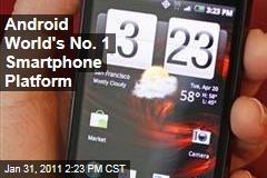 Android World's No. 1 Smartphone Platform